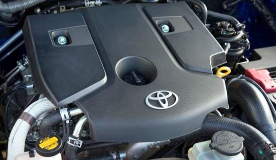 2019 Toyota Hilux Engine