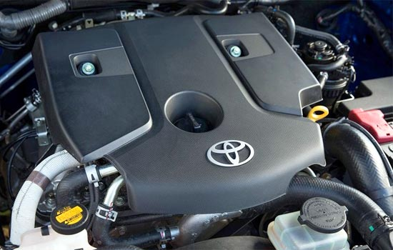 2019 Toyota Hilux Engine