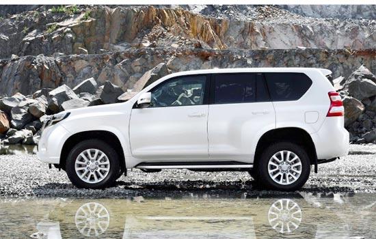2019 Toyota Land Cruiser Prado Exterior