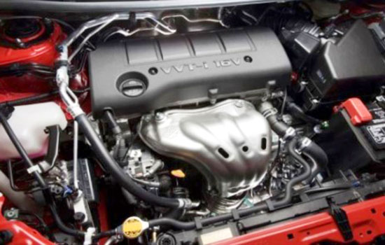 2019 Toyota Matrix Engine