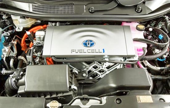 2019 Toyota Mirai Engine