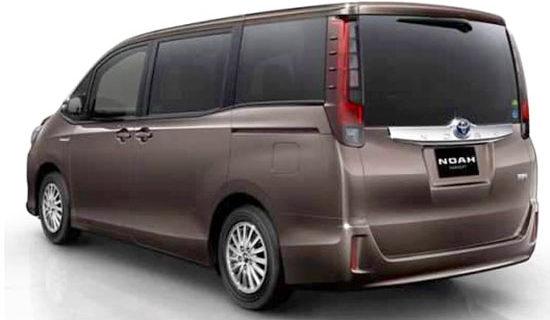 2019 Toyota Noah Exterior