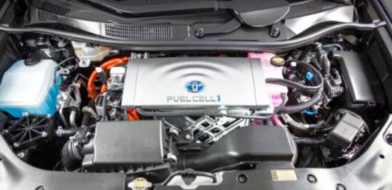 2019 Toyota Prius V Engine