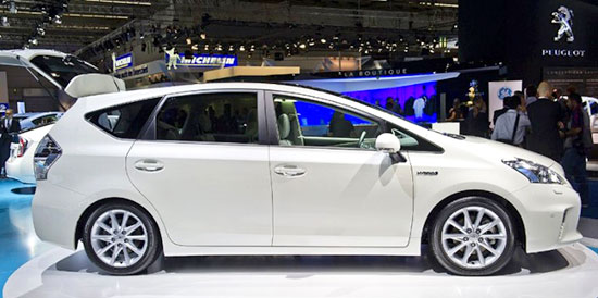 2019 Toyota Prius V Exterior