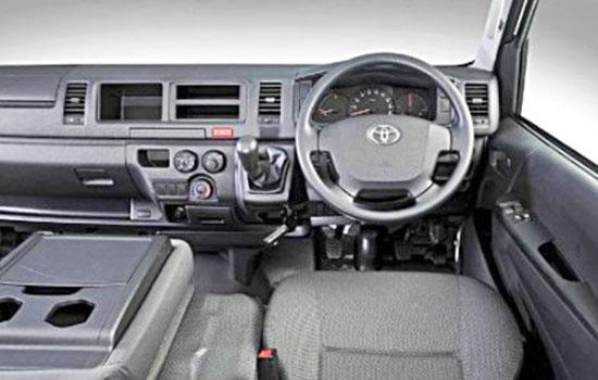 2019 Toyota Quantum Interior