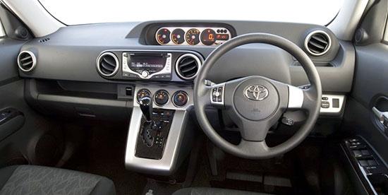 2019 Toyota Rukus Interior