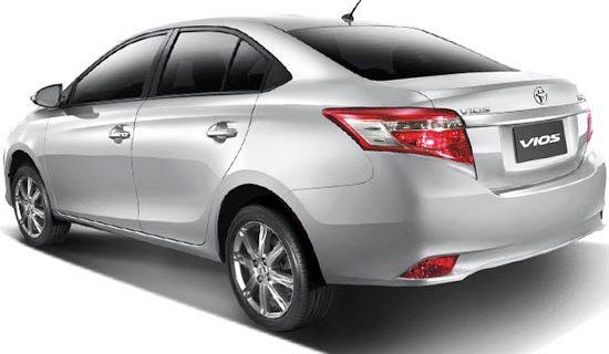2019 Toyota Vios Exterior