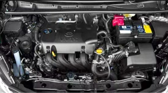 2019 Toyota Yaris Engine