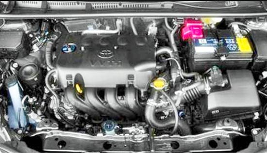 2019 Toyota Yaris Hybrid Engine