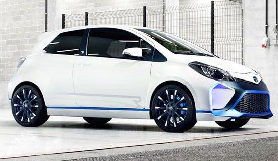 2019 Toyota Yaris Hybrid Exterior