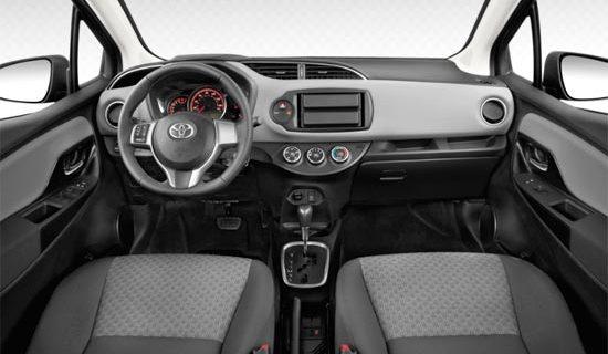 2019 Toyota Yaris Interior
