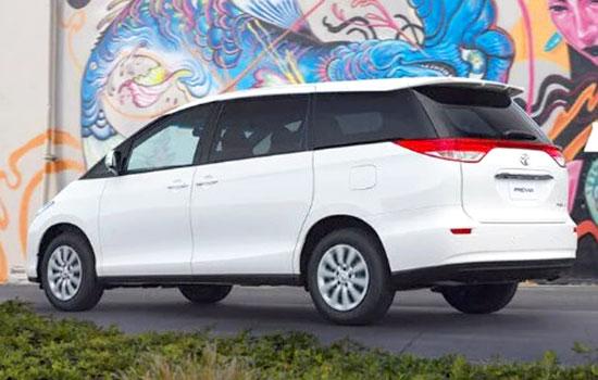 2019 Toyota Previa Exterior
