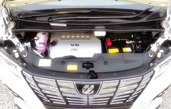 2019 Toyota Alphard Hybrid Engine