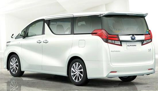 2019 Toyota Alphard Hybrid Exterior