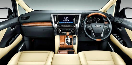 2019 Toyota Alphard Hybrid Interior