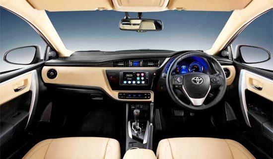 2019 Toyota Altis Interior
