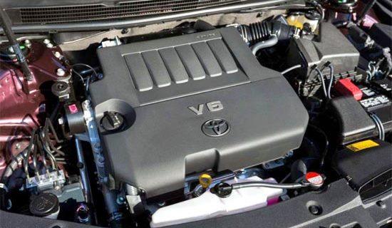 2019 Toyota Avalon Limited Engine