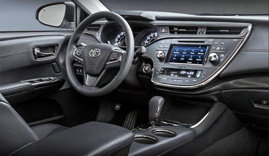 2019 Toyota Avalon Limited Interior