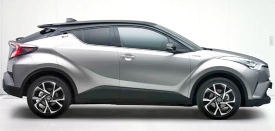 2019 Toyota C-HR Hybrid Exterior