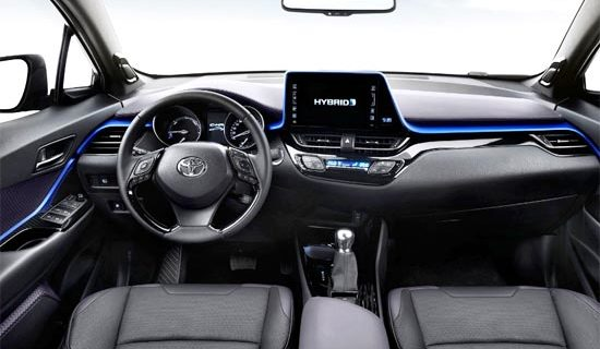 2019 Toyota C HR Hybrid Interior