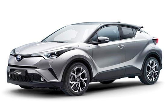 2019 Toyota C-HR Hybrid Review and Redesign