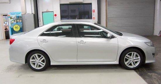2019 Toyota Camry Atara R Exterior