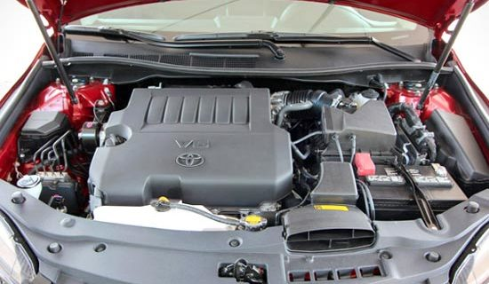 2019 Toyota Camry Atara S Engine