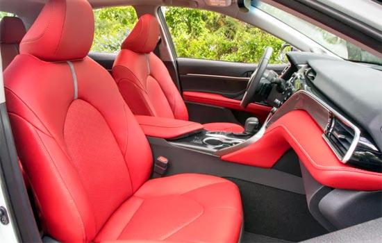 2019 Toyota Camry XSE V6 Interior