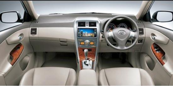 2019 Toyota Corolla Altis Philippines Interior