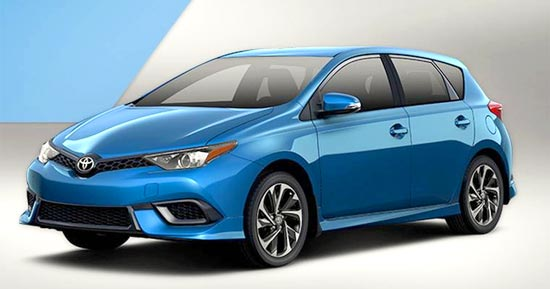 2019 Toyota Corolla IM Hatchback Release Date and Price