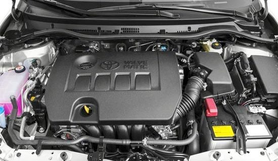2019 Toyota Corolla XTREME Engine