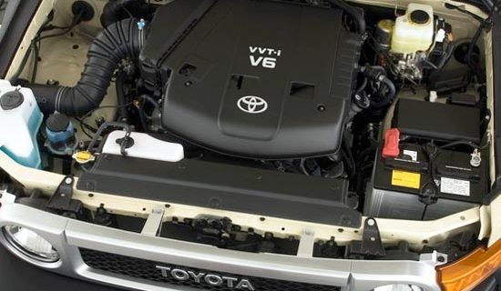 2019 Toyota Fj Cruiser Engine