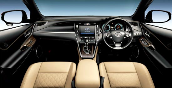 2019 Toyota Harrier Hybrid Interior