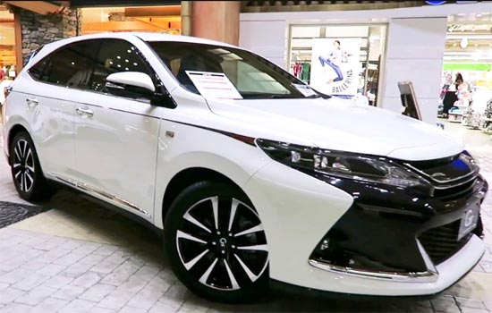 2019 Toyota Harrier Hybrid Release Date, Engine, Redesign