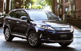 2019 Toyota Harrier Price, Review and Release Date