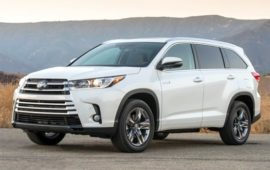 2019 Toyota Highlander Price and Review