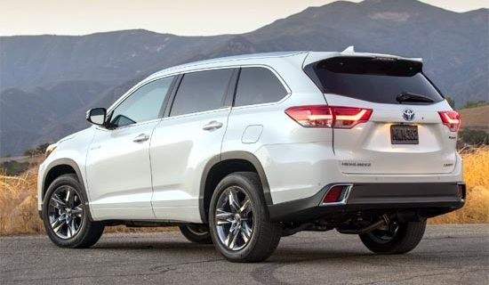 2019 Toyota Highlander Release Date And Price