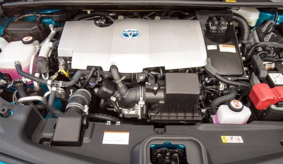 2019 Toyota Prius Engine