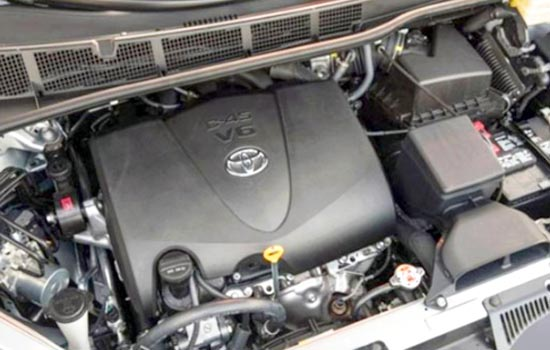 2019 Toyota Sienna AWD Engine