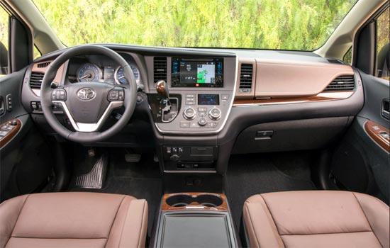 2019 Toyota Sienna AWD Interior