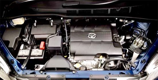 2019 Toyota Sienna Hybrid Engine