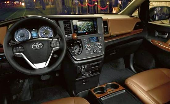 2019 Toyota Sienna Hybrid Interior