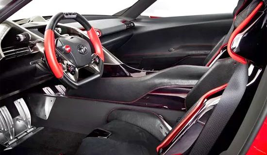 2019 Toyota Supra Turbo Interior