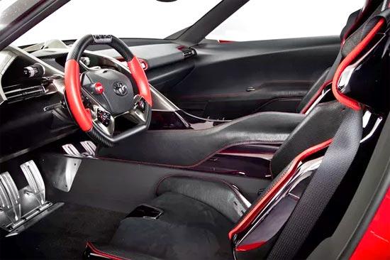 2019 Toyota Supra Turbo Interior