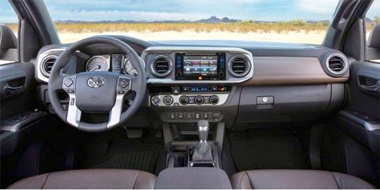 2019 Toyota Tacoma 4x4 Interior