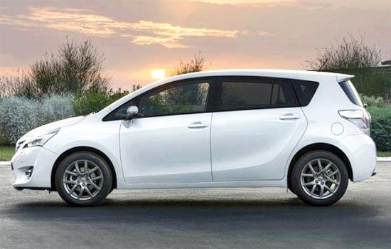 2019 Toyota Verso Exterior