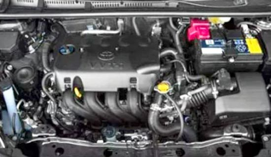 2019 Toyota Yaris Engine