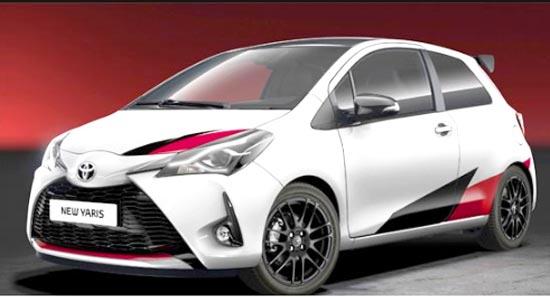2019 Toyota Yaris Exterior