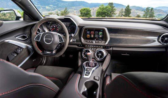 2019 Chevrolet Camaro 1LE Interior