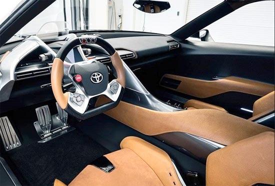 2019 New Toyota Supra Interior